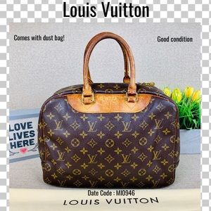 Louis Vuitton Satchel bag bowling vanity handbag